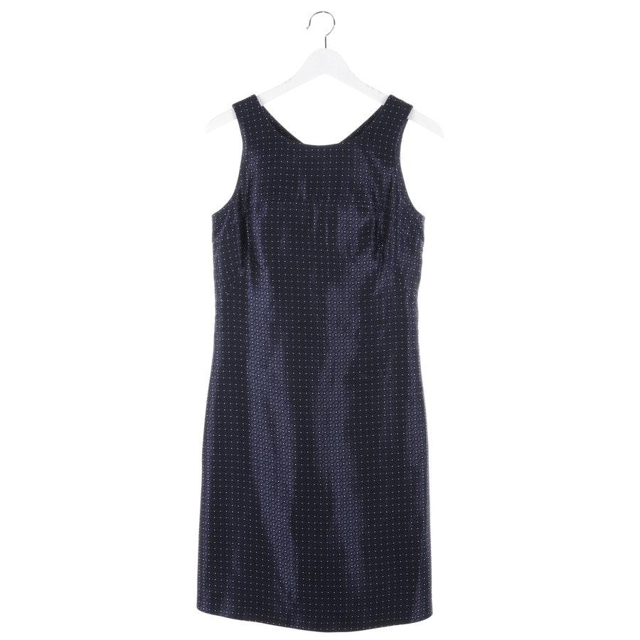 Kleid von Tara Jarmon in Blau und Schwarz Gr. 34 FR 36