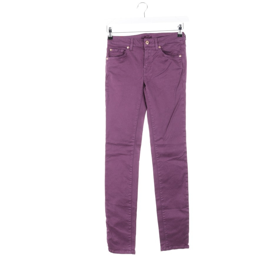 jeans from 7 for all mankind in purple size W27
