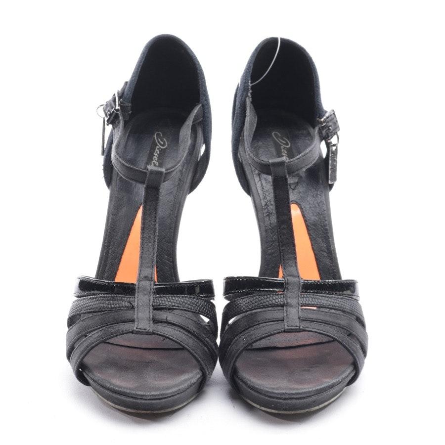 Sandaletten von Diesel in Schwarz Gr. D 37