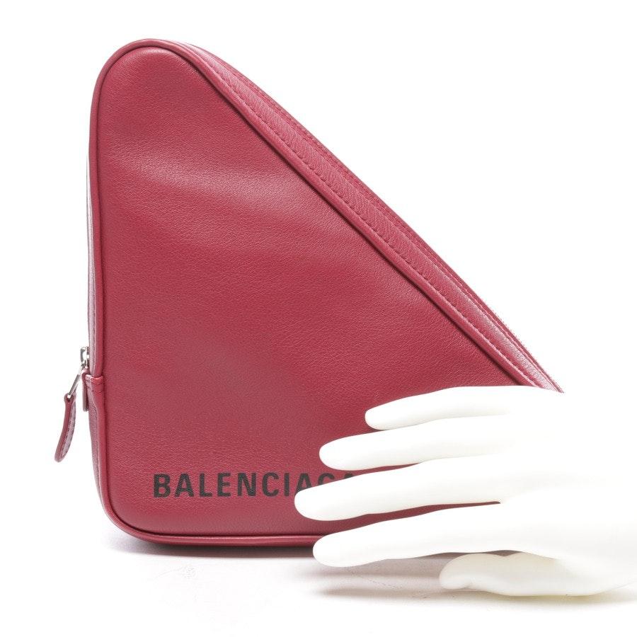 Clutch von Balenciaga in Bordeaux - Triangle - Neu