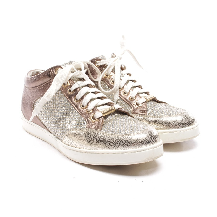 trainers from Jimmy Choo in bronze size D 36,5