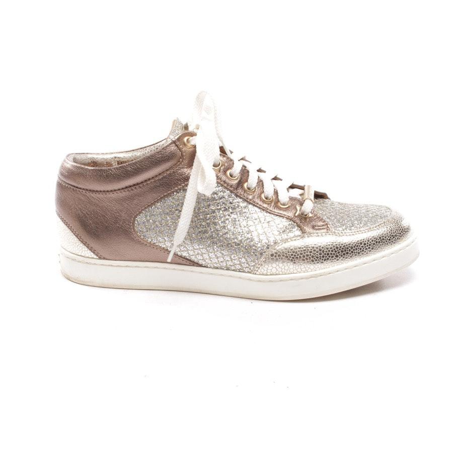 Sneaker von Jimmy Choo in Bronze Gr. D 36,5