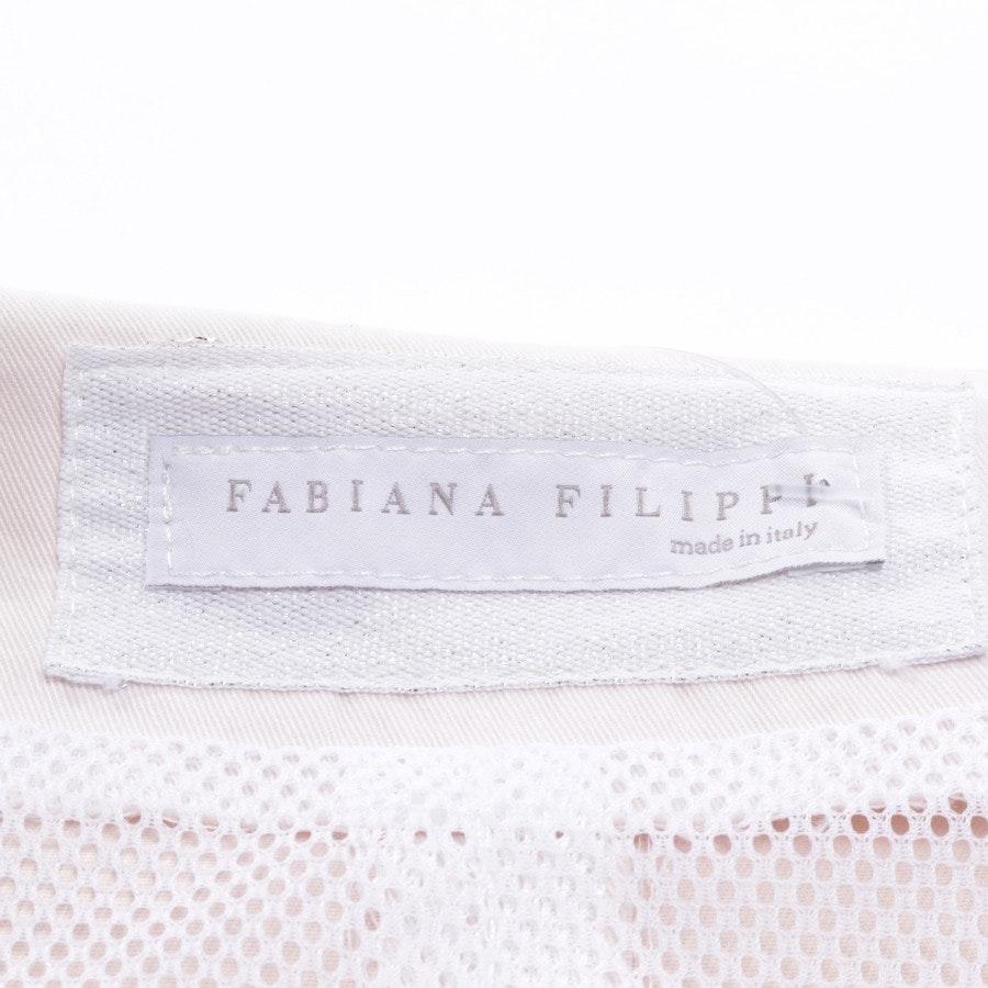 Sommerjacke von Fabiana Filippi in Zartrosa Gr. 38 IT 44