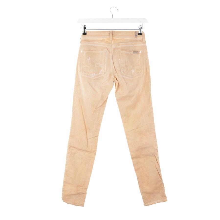 Jeans von 7 for all mankind in Hellorange Gr. W27