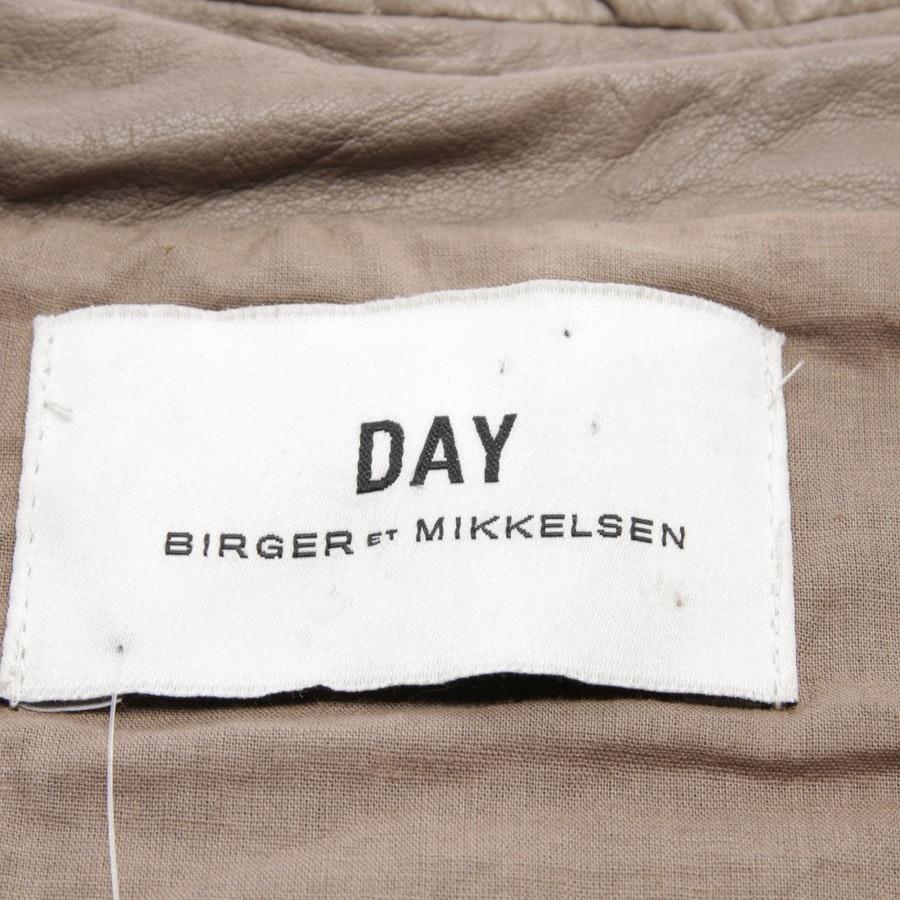 Lederjacke von Day Birger et Mikkelsen in Taupe Gr. 36