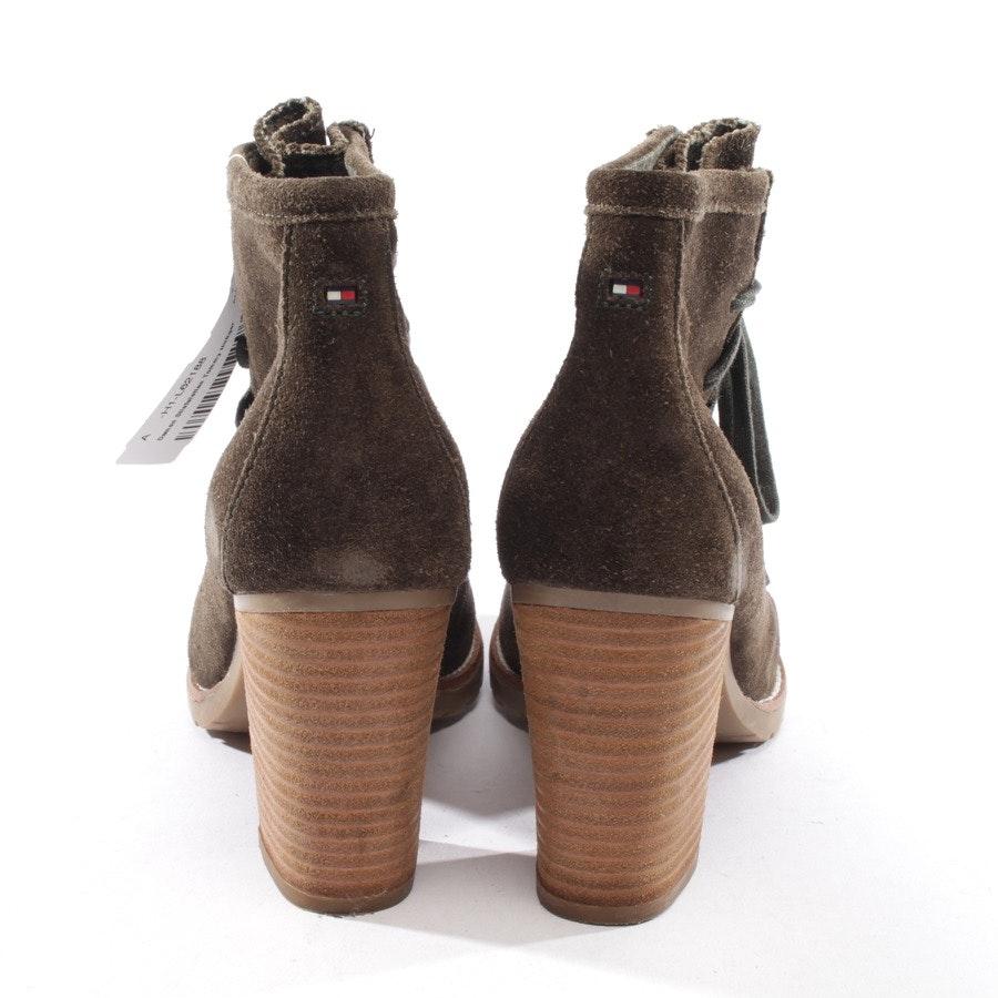 Ankle Boots von Tommy Hilfiger in Braun Gr. EUR 39