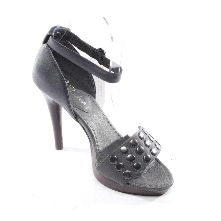 Sandaletten von Ted Baker in Graublau Gr. D 37 - Neu