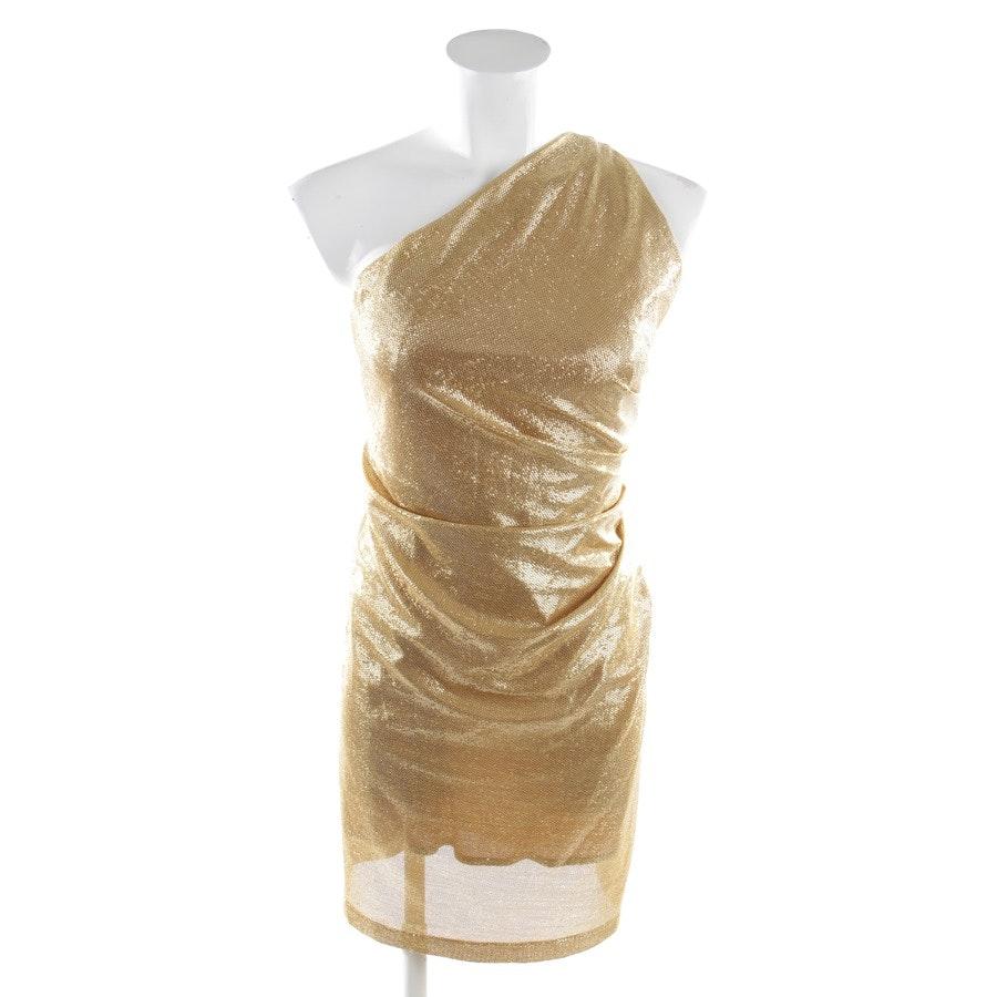 Kleid von Plein Sud in Gold Gr. 38 FR 40