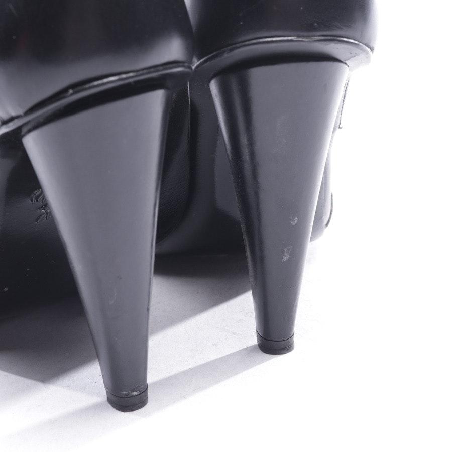 Sandaletten von Roland Mouret in Schwarz Gr. D 36