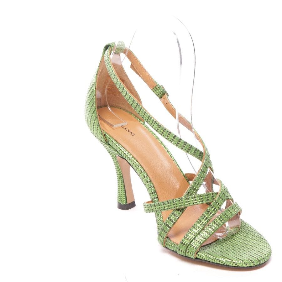 Sandaletten von Ganni in Grün Gr. D 38 - Wilma