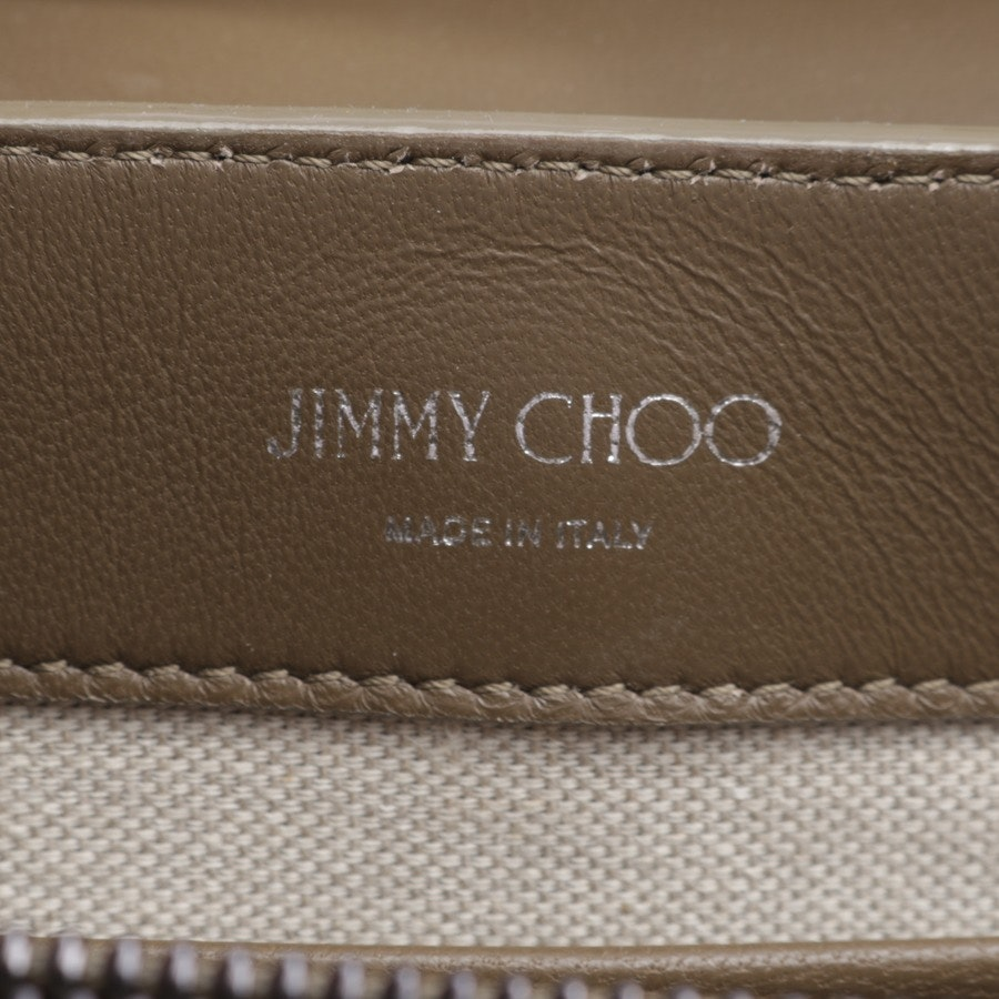 evening bags from Jimmy Choo in olive - rebare dead-new