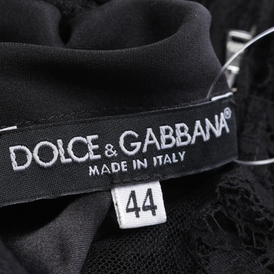 Spitzenkleid von Dolce & Gabbana in Schwarz Gr. 38 IT 44