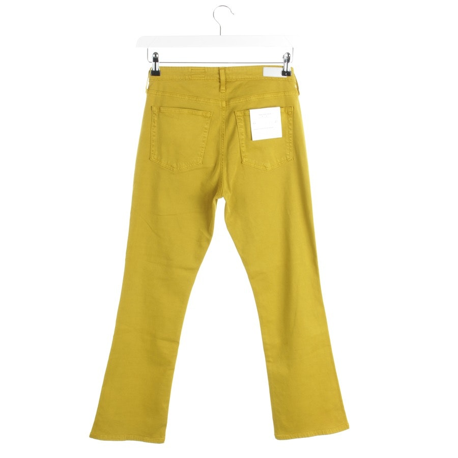 Jeans von AG Jeans in Senfgelb Gr. W27 - Neu - The Jodi Crop High-Rise Slim Flare Crop