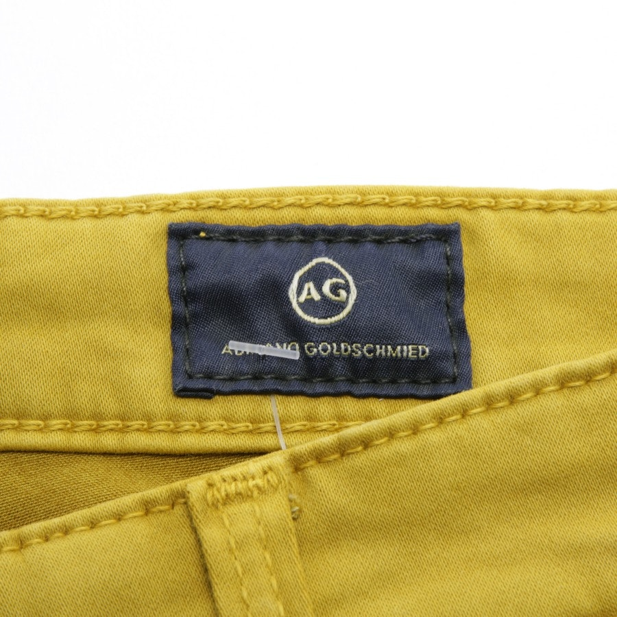 jeans from AG Jeans in mustard yellow size W27 - new - the jodi crop high-rise slim flare crop
