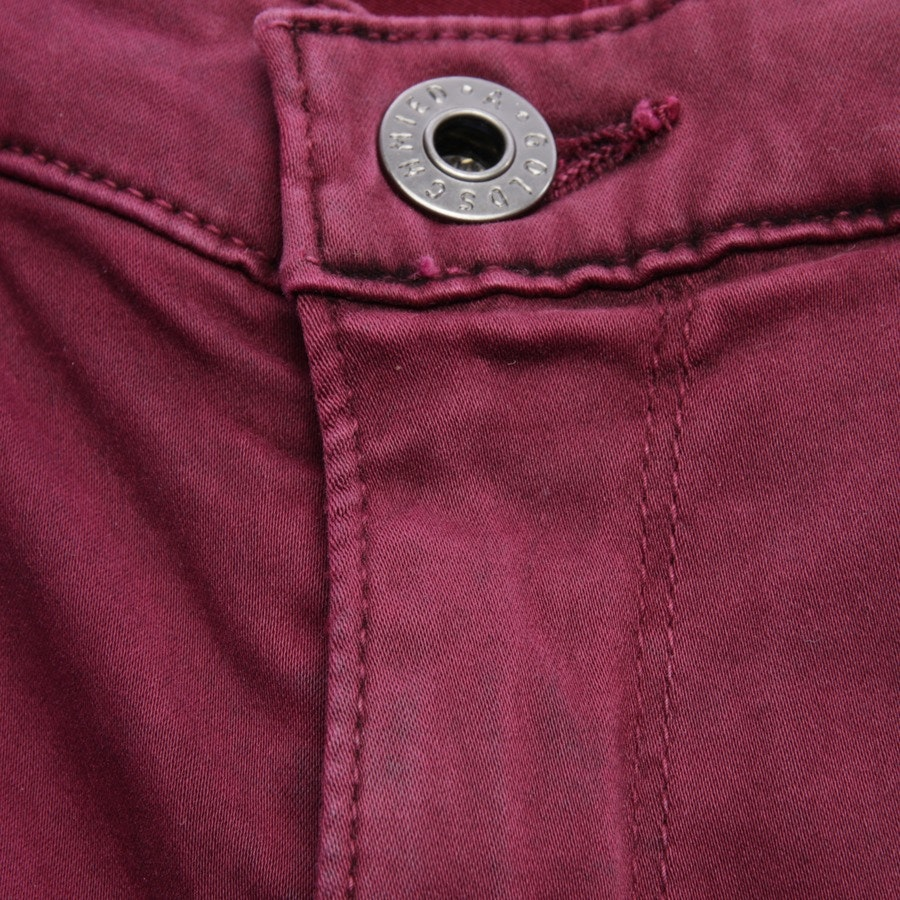 jeans from AG Jeans in burgundy size W27 - new - the prima mid-rise cigarette