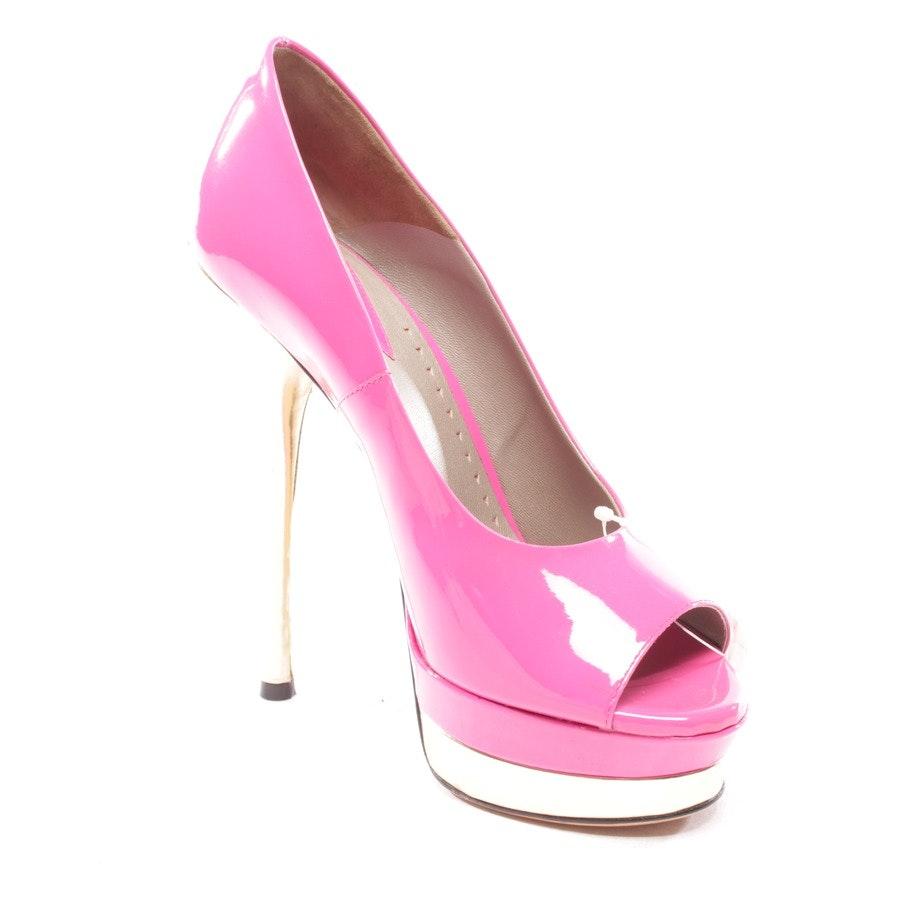 Pumps von Versace in Pink und Gold Gr. D 36,5 - Neu