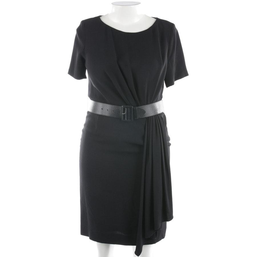 Seidenkleid von Dior in Schwarz Gr. 42