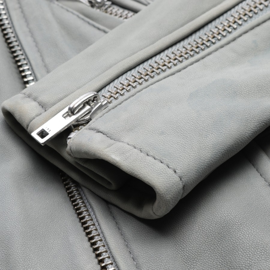 leather jacket from Iro in grey size 34 FR 36