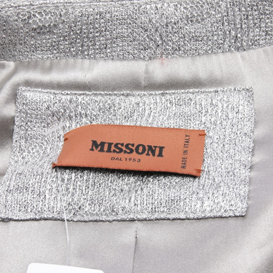 between-seasons jackets from Missoni in silver size 38 IT 44 - new