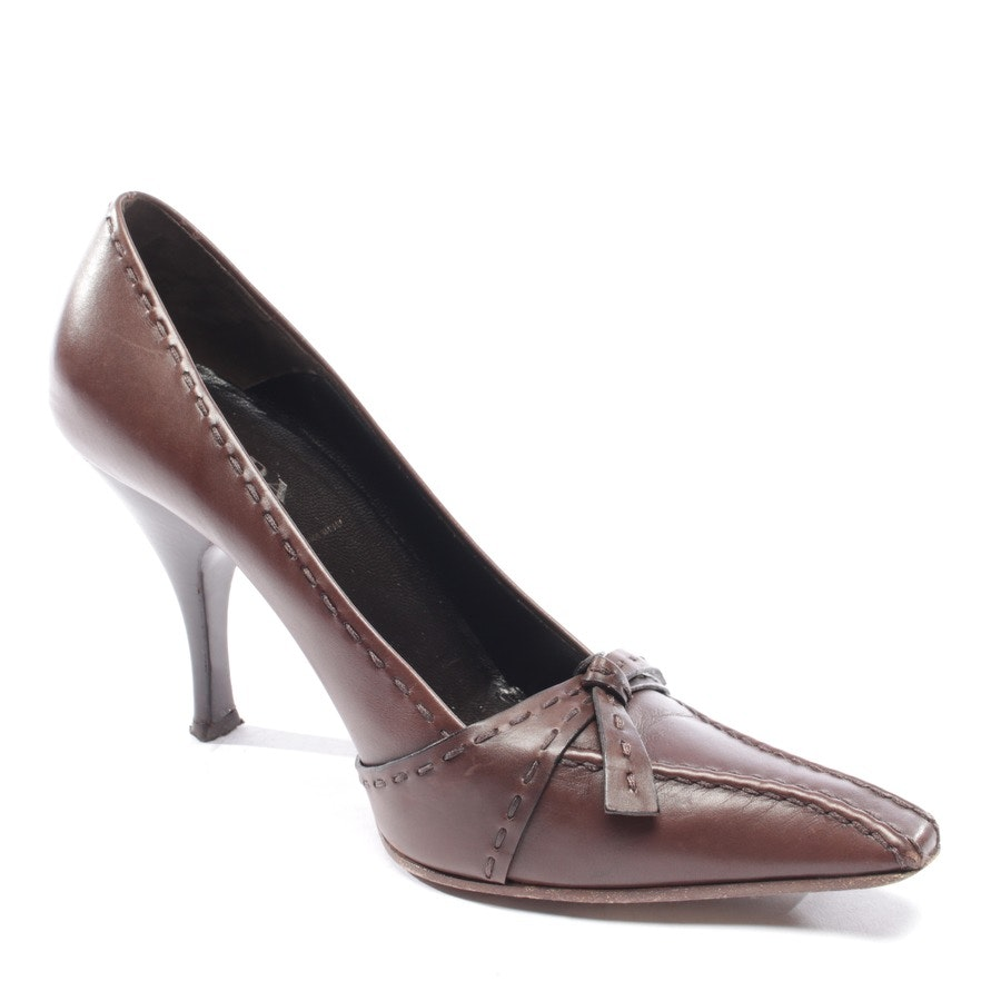 pumps from Prada in brown size D 35,5