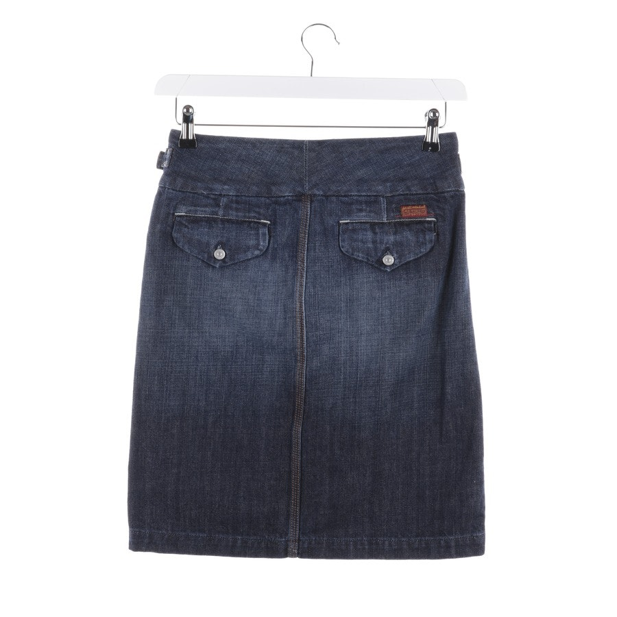 skirt from 7 for all mankind in dark blue size W25