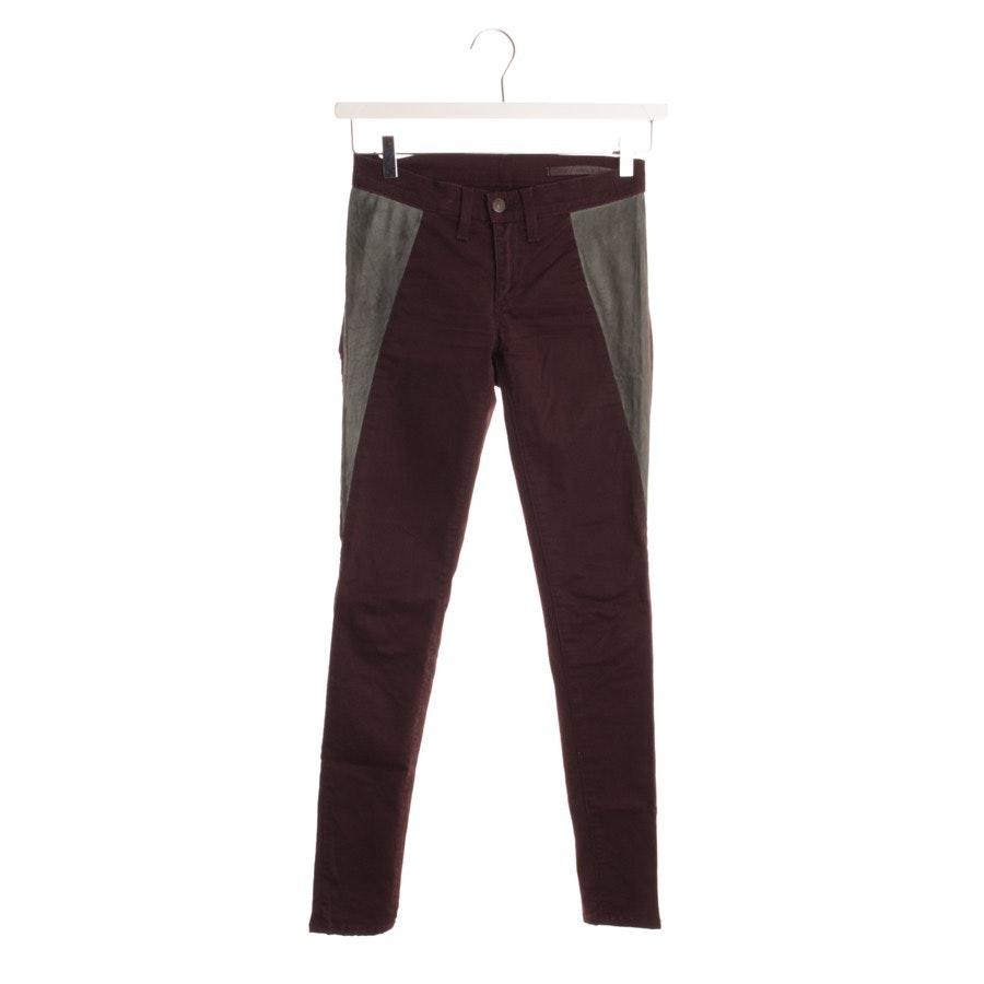 Jeans von Rag & Bone in Bordeaux und Grau Gr. W25