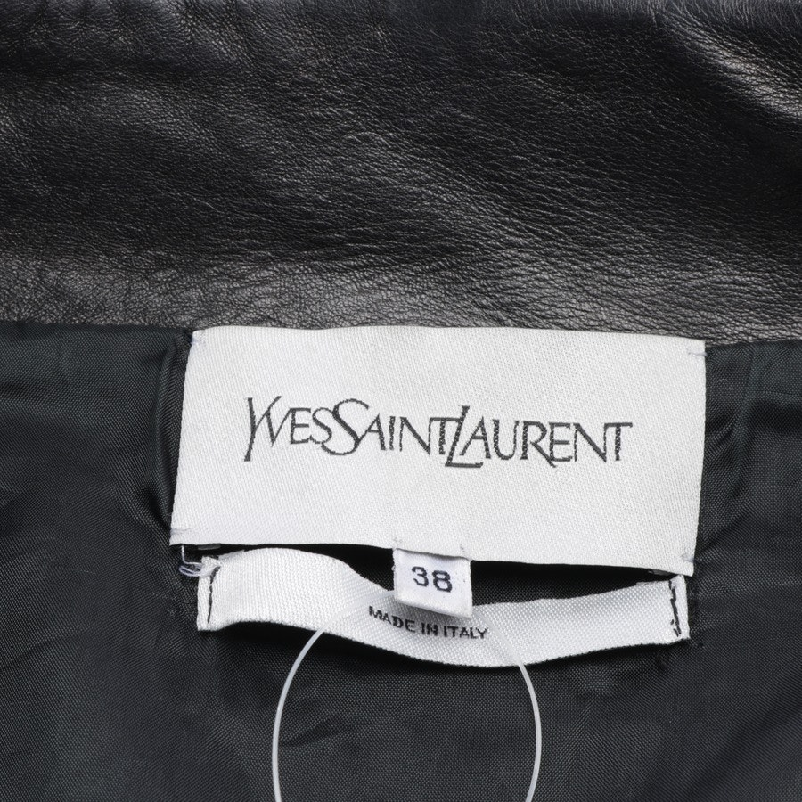leather jacket from Yves Saint Laurent in brown size 36 FR 38