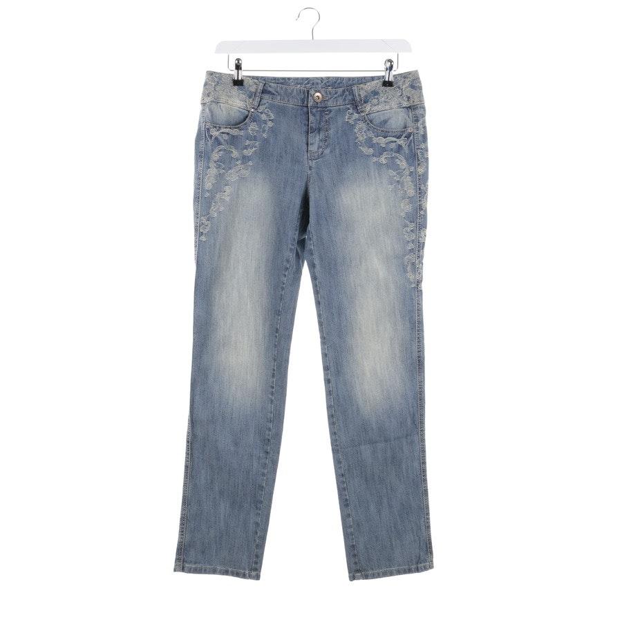Jeans von Marc Cain in Blau und Beige Gr. 38 N3