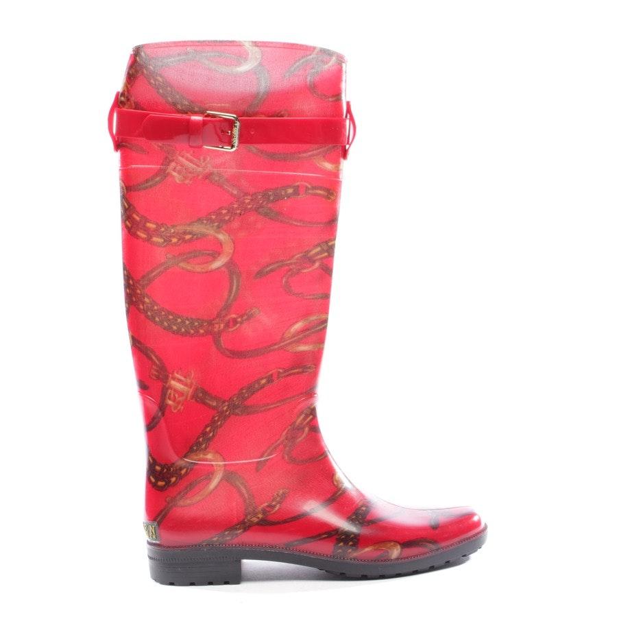 boots from Lauren Ralph Lauren in red size EUR 40,5 US 9