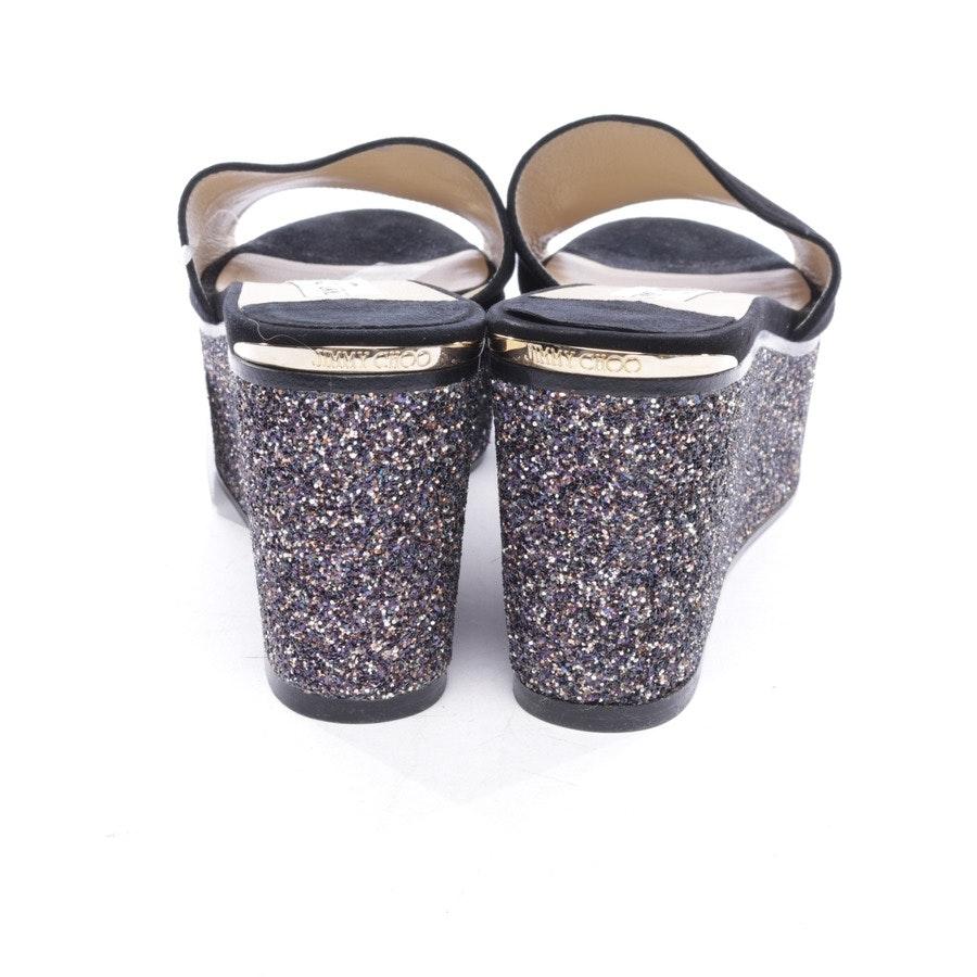 Sandaletten von Jimmy Choo in Schwarz Gr. D 40,5