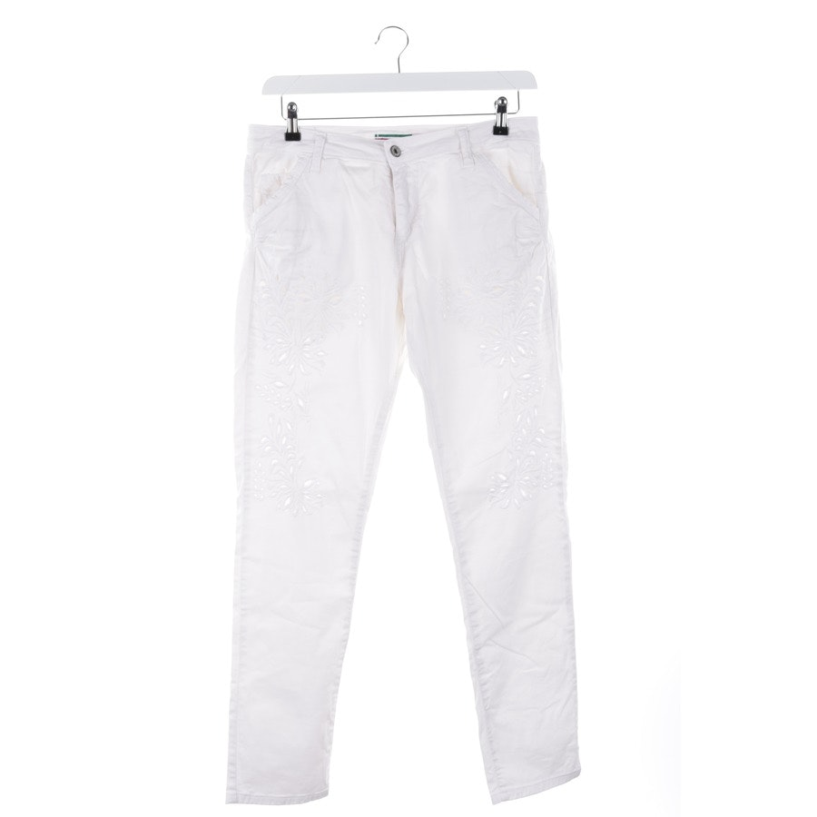 jeans from Please in white size XL