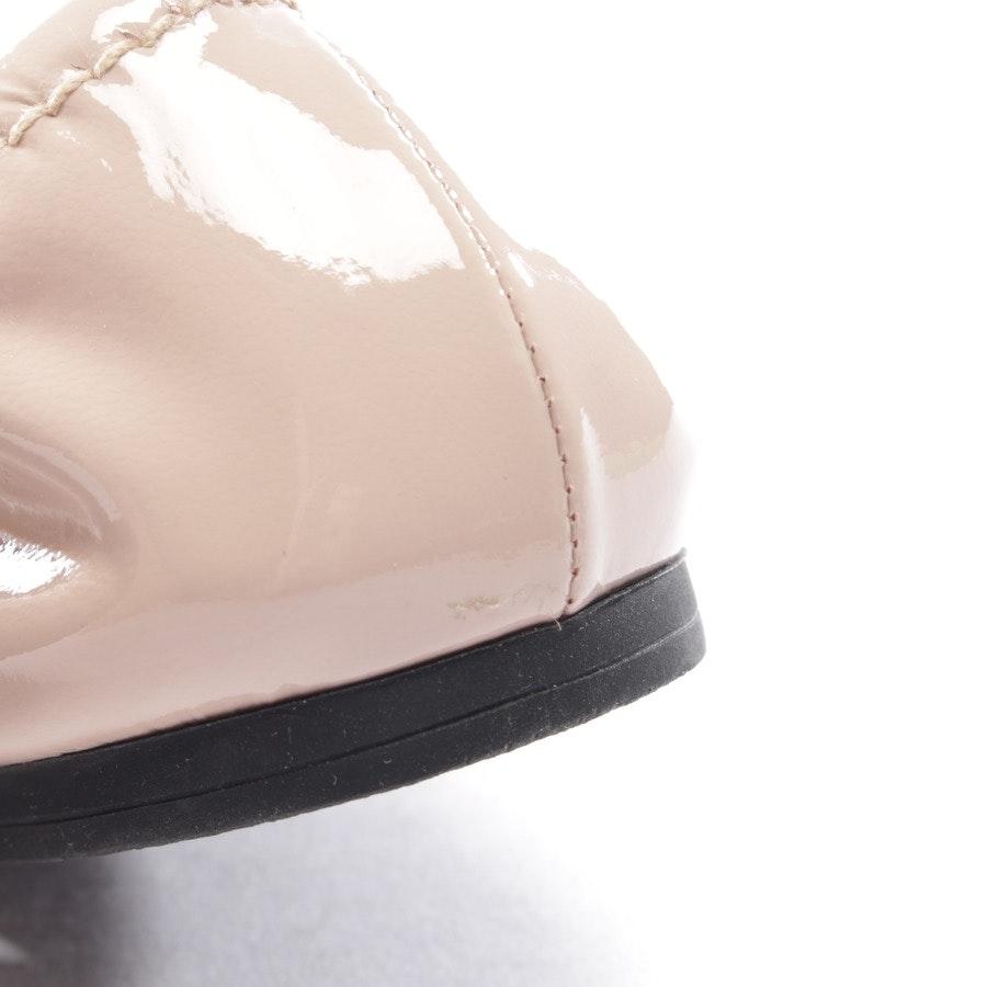 Ballerinas von Miu Miu in Nude Gr. EUR 36 - Neu