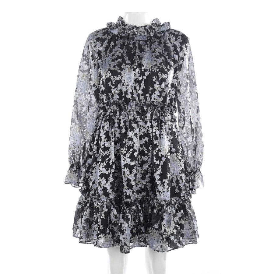 Kleid von Ted Baker in Schwarz und Blau Gr. 38 / 3 - Graceful Ruffle Skater Dress - NEU