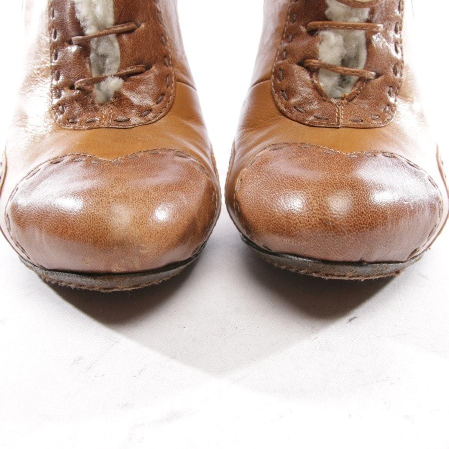 Ankle Boots von Alexander McQueen in Camel und Braun Gr. EUR 38,5