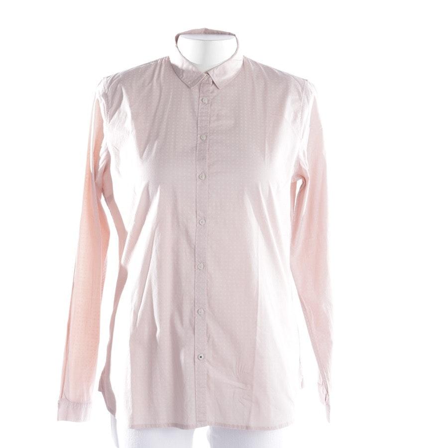 Bluse von Tommy Hilfiger in Rosa und Weiß Gr. 40 US 10