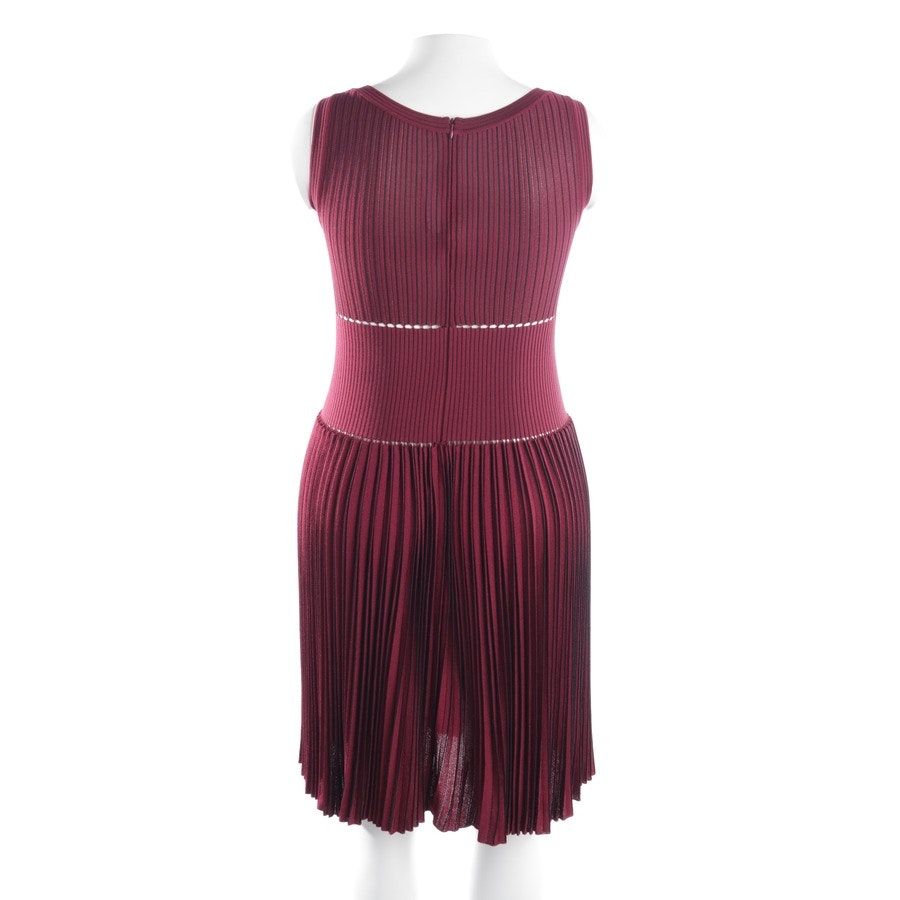 dress from Alaia in bordeaux and black size 42 FR 44