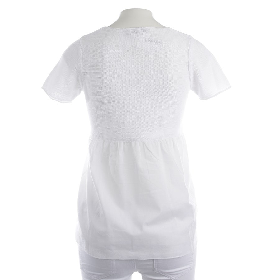 shirts from Oui in white and beige size XS