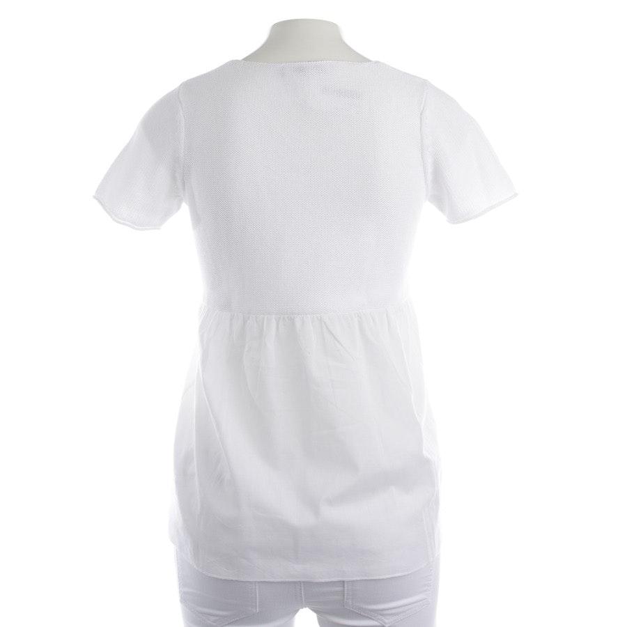 Shirt von Oui in Weiß und Beige Gr. XS