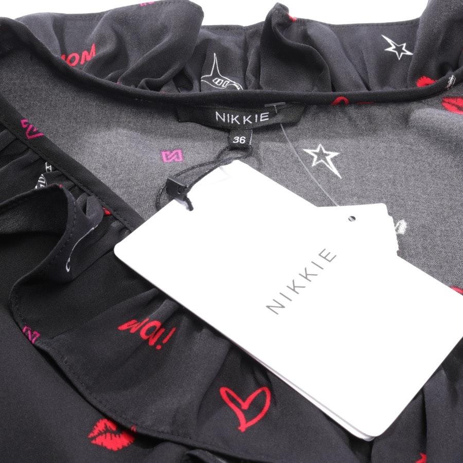 Kleid von Nikkie in Schwarz und Multicolor Gr. 36 - Neu