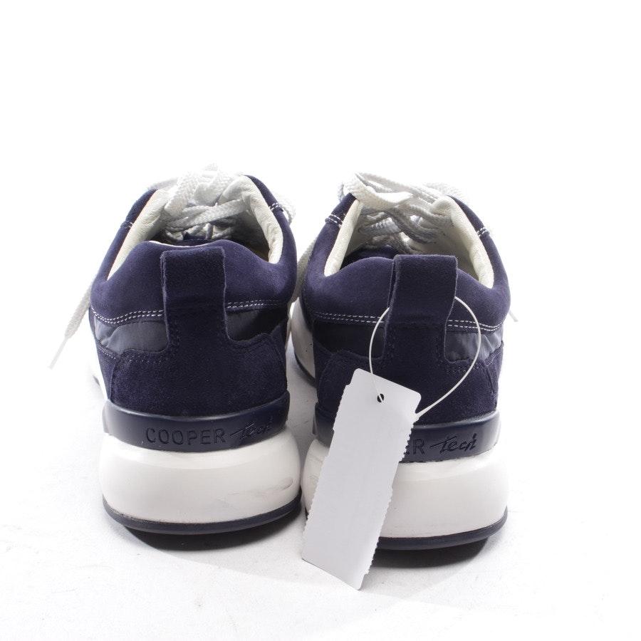 Sneaker von Candice Cooper in Dunkelblau und Weiß Gr. D 37