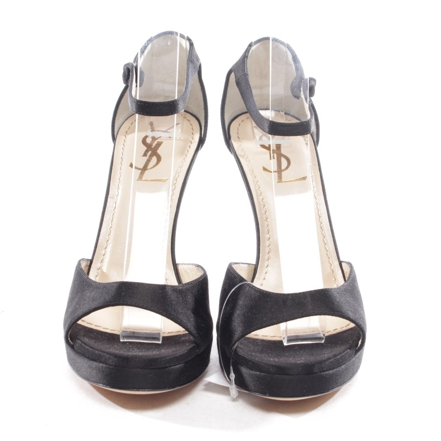 heeled sandals from Yves Saint Laurent in black size D 35,5 - new