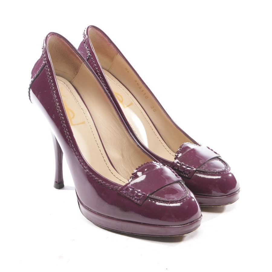 pumps from Yves Saint Laurent in purple size D 36