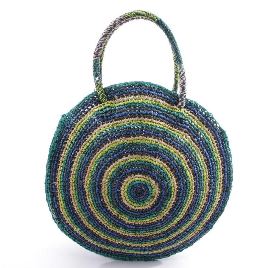 Handtasche von Gabriele Frantzen in Multicolor - Neu - Raffia Bag Boho
