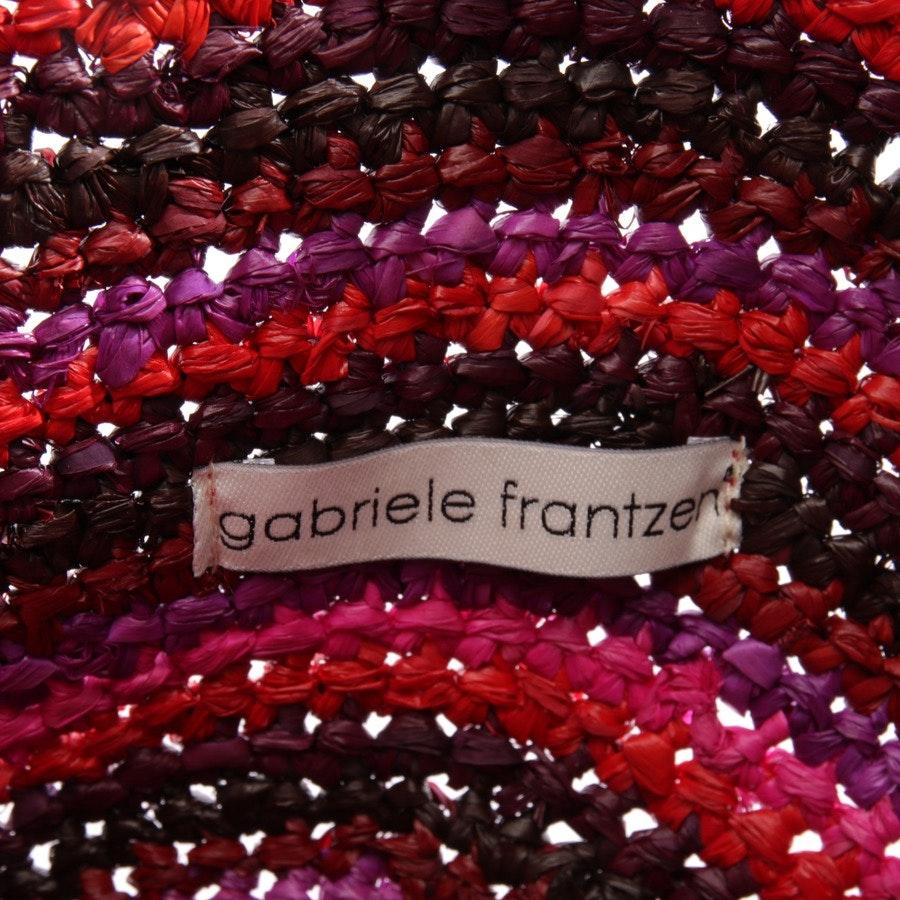 Handtasche von Gabriele Frantzen in Multicolor - Raffia Boho Bag - Neu