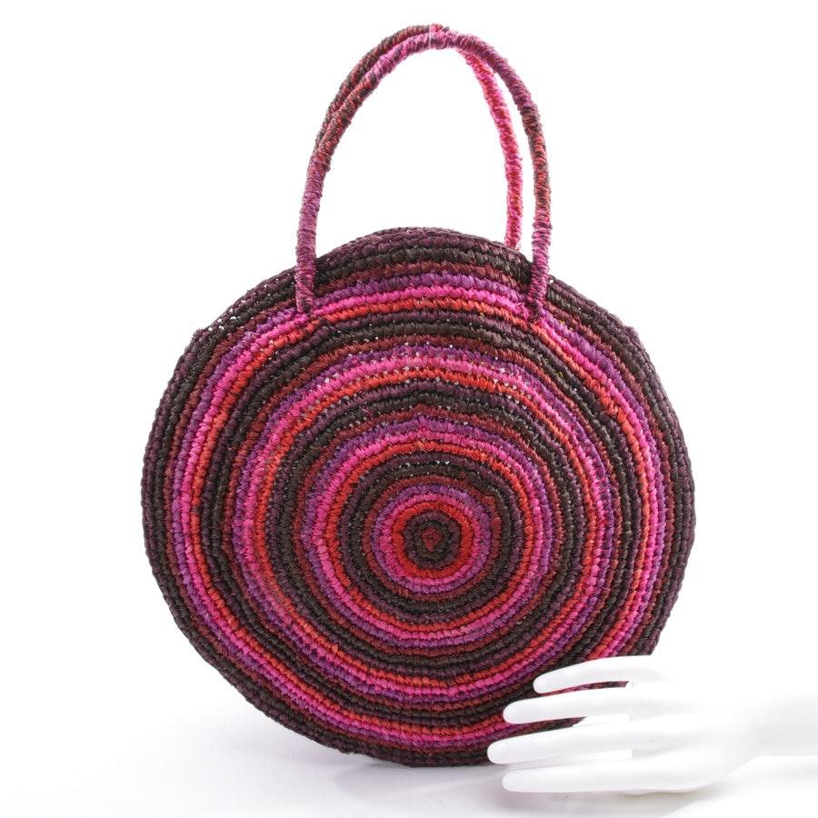 Handtasche von Gabriele Frantzen in Multicolor - Raffia Bag Boho - Neu