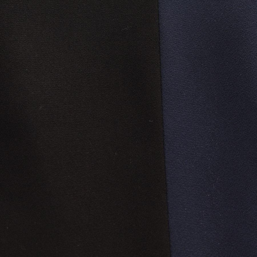 Kleid von Fendi in Schwarz und Blau Gr. DE 30 IT 36