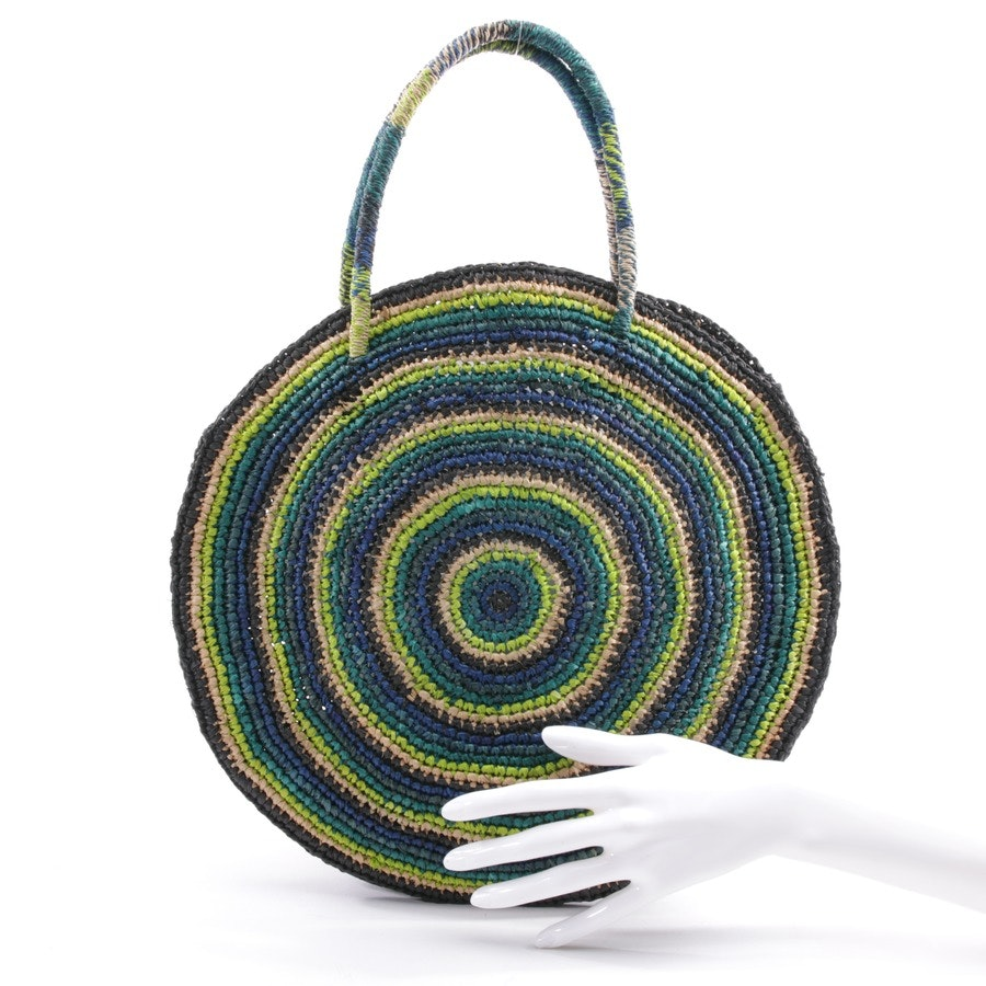 handbag from Gabriele Frantzen in multicolor - raffia boho bag