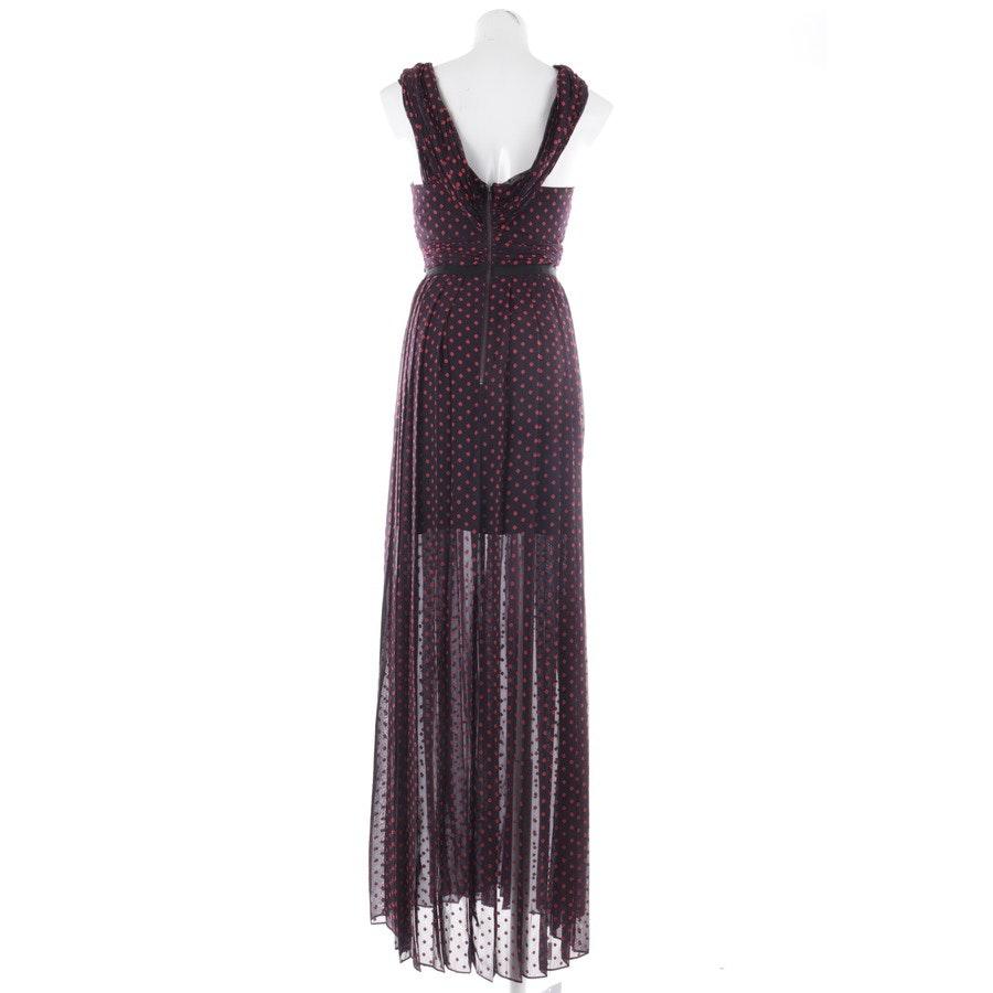 Kleid von self-portrait in Aubergine und Rot Gr. 34 UK 8 - Neu