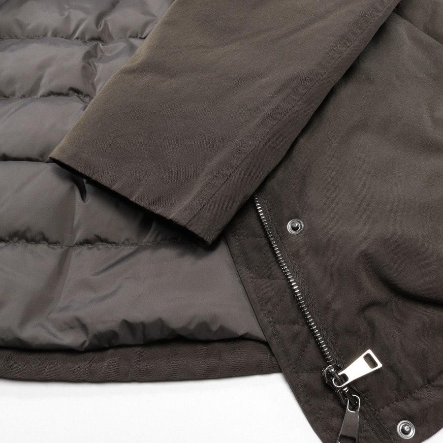 Winterjacke von Moncler in Khaki und Schwarz Gr. 34 / 0 - Agapanthus