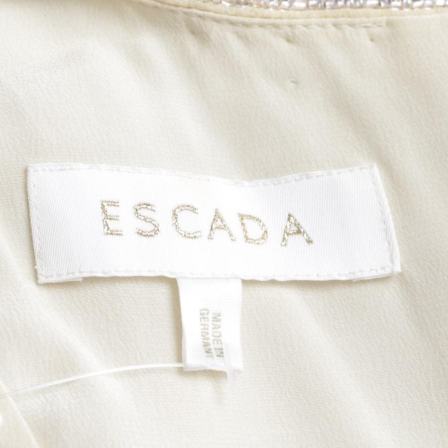 Kleid von Escada in Beige und Braun Gr. S
